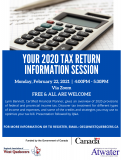 NEW 2021 Tax Info Session Shawville